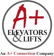 A+ Elevators & Lifts Logo