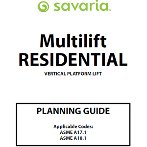 Multilift Residential Planning Guide